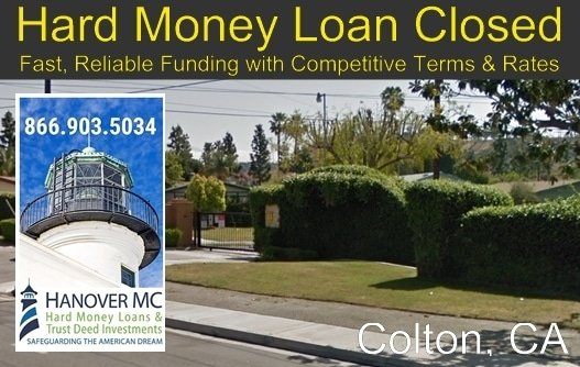 Hard Money Loan Closed