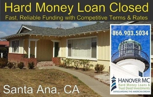 a single investment property in Santa Ana, CA 92706.